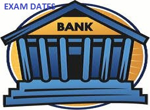 Upcoming exam dates for Banking jobs