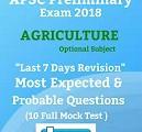 agriculture apsc 1