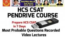 HCS CSAT Pendrive Course 2