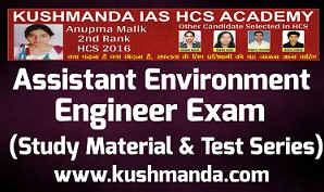 Assistant Environment Engineer book 2019