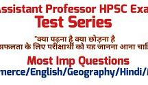 assistant professor test series