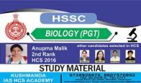 BIOLOGY-PGT coaching