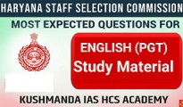 hssc english pgt book pdf