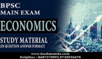 BPSC MAIN ECONOMICS syllabus
