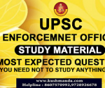 UPSC-ENFORCEMENT-OFFICER BOOK