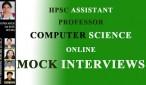 HPSC COMPUTER SCIENCE MOCK INTERVIEWS