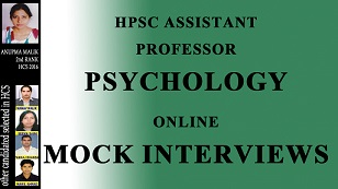 PSYCHOLOGY INTERVIEW