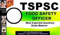 TSPSC food  safety officer pdf