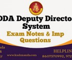 dda deputy director system book