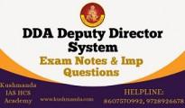 dda deputy director system book