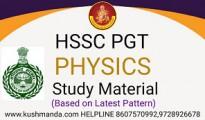 hssc pgt physics
