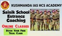 sainik school entrance coaching for class 6th