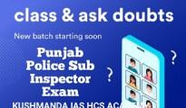 punjab police sub inspector